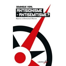Antisionisme égal...